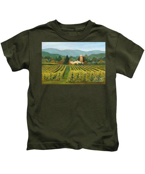Raspberry Rows Kids T-Shirt