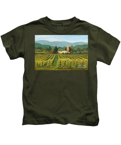Raspberry Rows Kids T-Shirt
