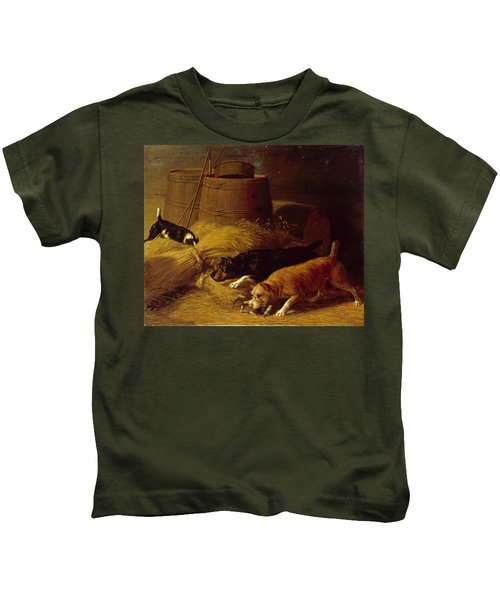 Rats Amongst The Barley Sheaves Kids T-Shirt