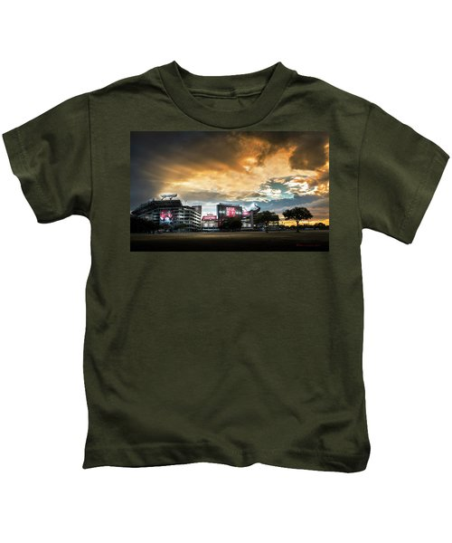 Raymond James Stadium Kids T-Shirt