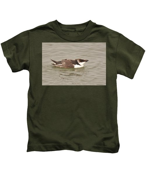 Razorbill Kids T-Shirt by Alan Lenk