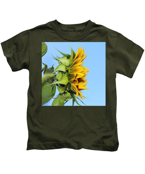 Reaching Sunflower Kids T-Shirt