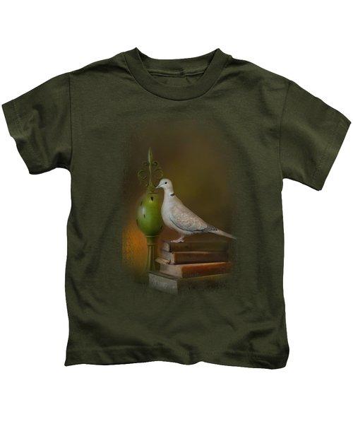 Read Me A Story Kids T-Shirt by Jai Johnson