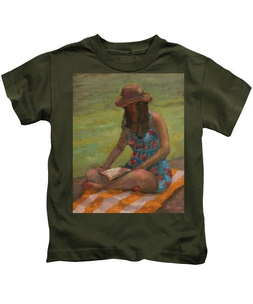 Reading At Jersey Valley Kids T-Shirt