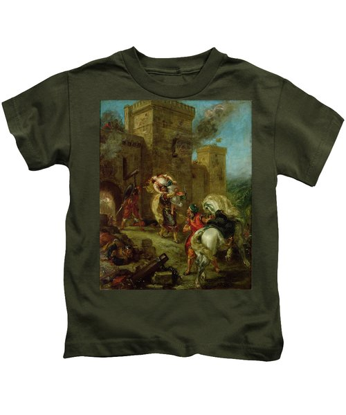 Rebecca Kidnapped By The Templar Kids T-Shirt