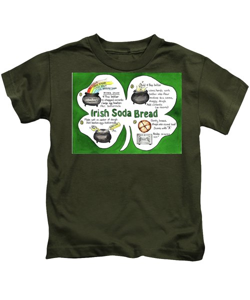 Recipe - Irish Soda Bread Kids T-Shirt