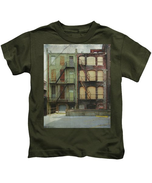 Red And Green Kids T-Shirt