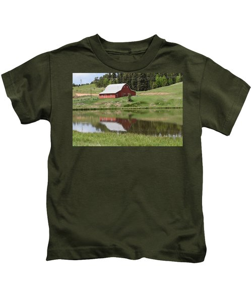 Red Barn Burgess Res Divide Co Kids T-Shirt