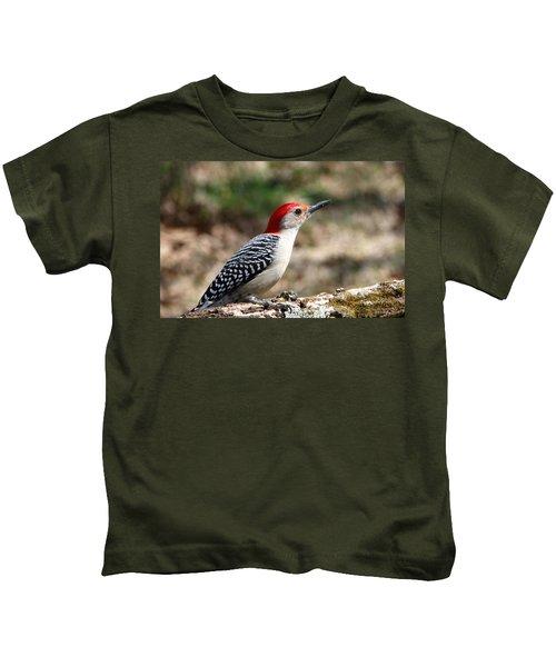 Red-bellied Woodpecker Kids T-Shirt