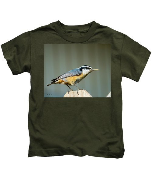 Red-breasted Nuthatch Kids T-Shirt