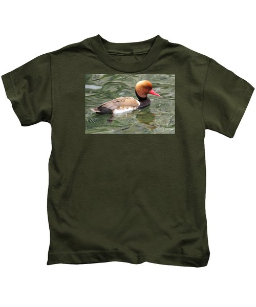 Red-crested Pochard Kids T-Shirt