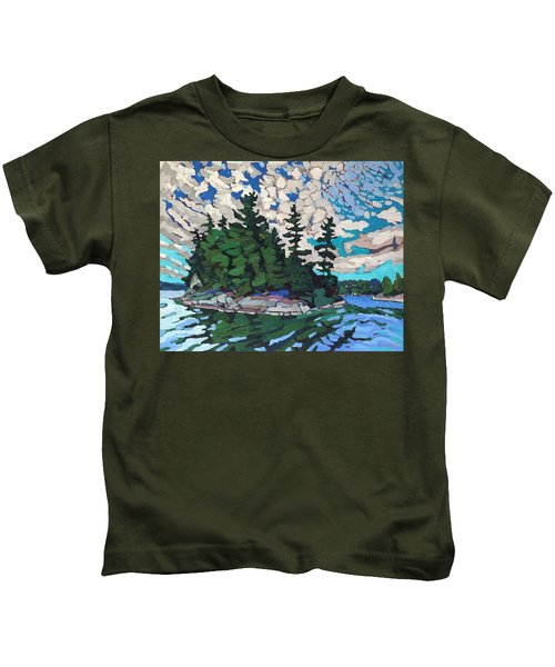Red Horse Paradise Kids T-Shirt