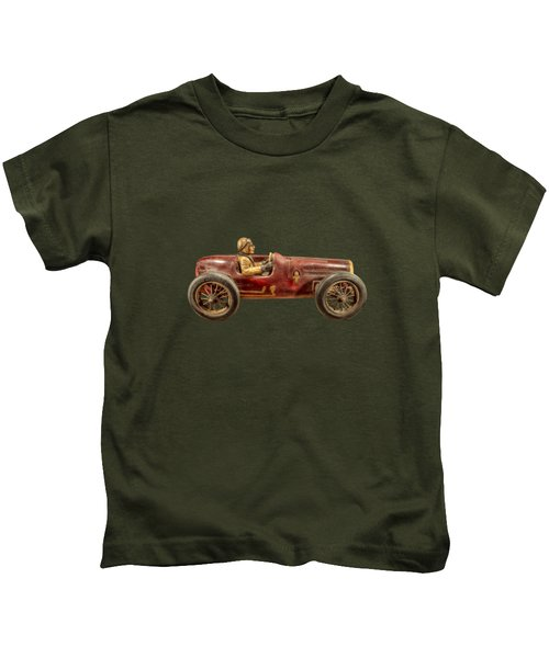 Red Racer Right Kids T-Shirt