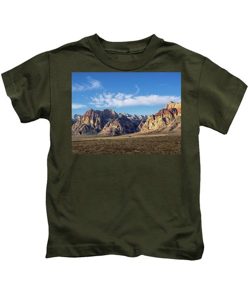 Red Rock Morning Kids T-Shirt