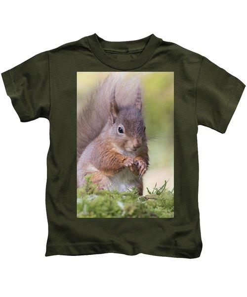 Red Squirrel - Scottish Highlands #1 Kids T-Shirt