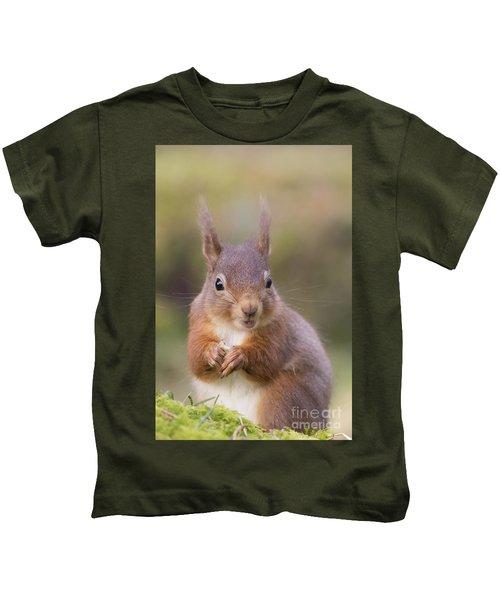 Red Squirrel - Scottish Highlands #18 Kids T-Shirt