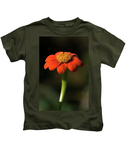 Red Sunflower Kids T-Shirt