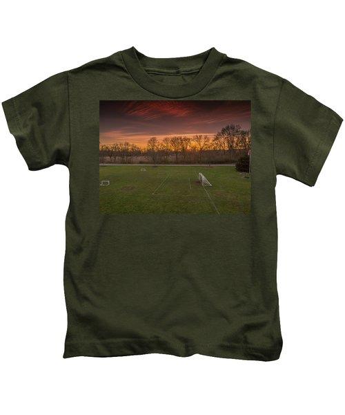 Red Sunset Kids T-Shirt