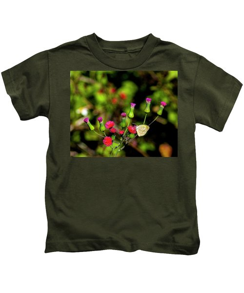 Red Tassel And Sulfur Kids T-Shirt