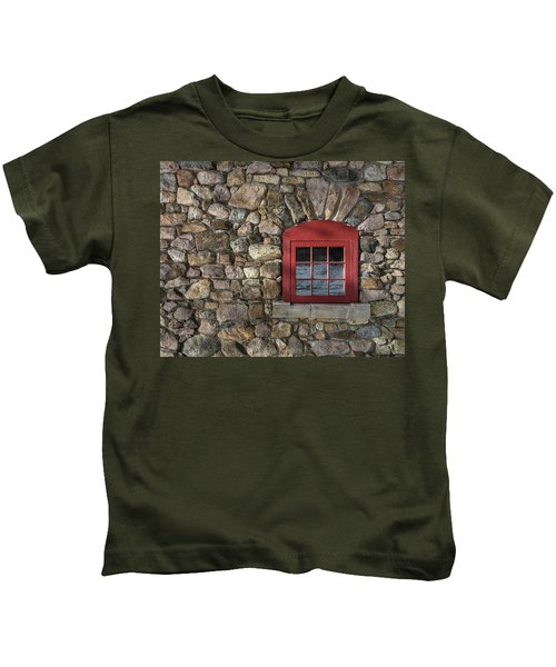 Red Window Kids T-Shirt