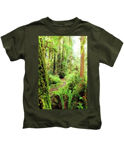 Red Woods Trail Kids T-Shirt