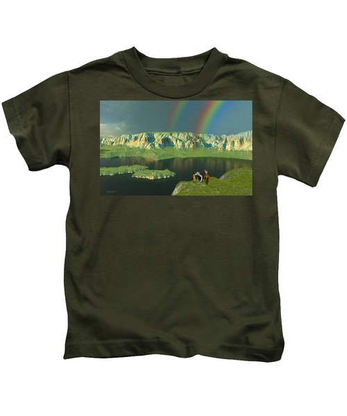 Redemption For An Angry Sky Kids T-Shirt