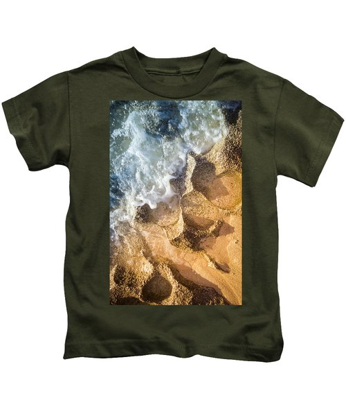 Reefy Textures Kids T-Shirt