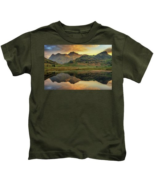 Reflected Peaks Kids T-Shirt