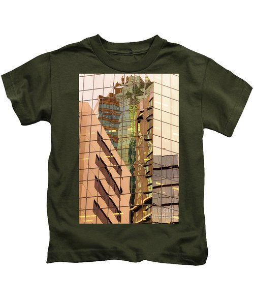 Reflecting Eagle 4 Kids T-Shirt