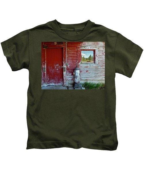 Reflecting The Landscape Kids T-Shirt