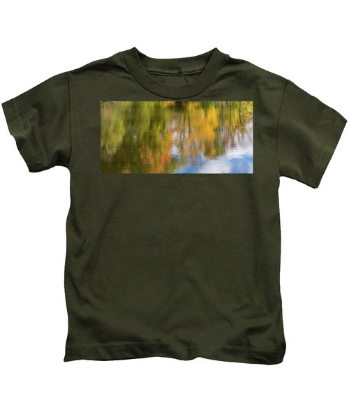 Reflection Of Fall #1, Abstract Kids T-Shirt
