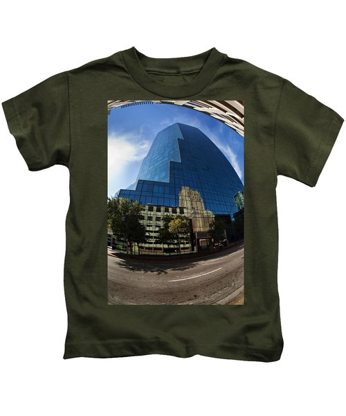 Reflections Of Fort Worth Kids T-Shirt