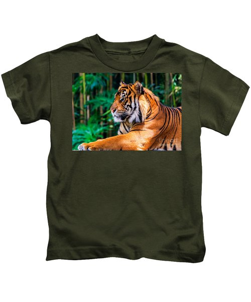 Regal Tiger Kids T-Shirt