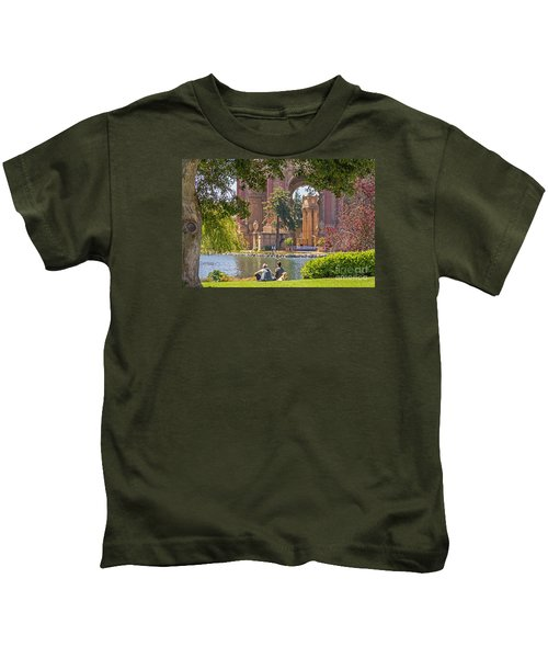Relaxing At The Palace Kids T-Shirt