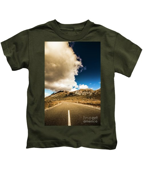 Remote Rural Roads Kids T-Shirt