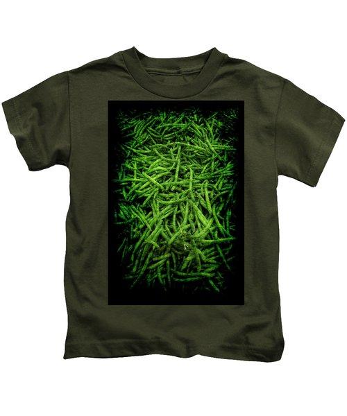 Renaissance Green Beans Kids T-Shirt