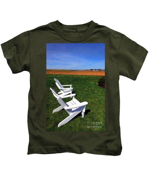 Resting Away Kids T-Shirt