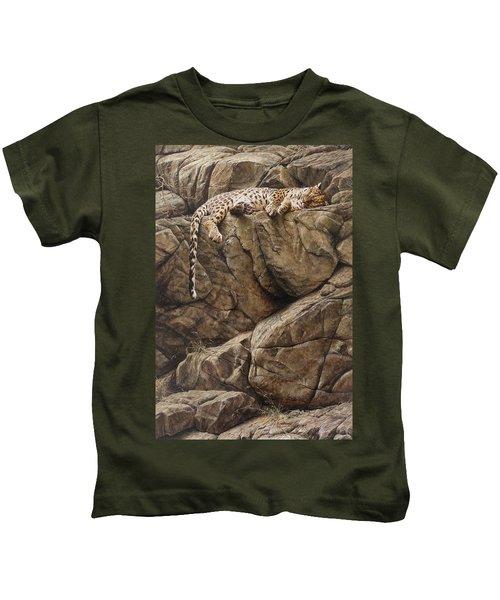 Resting In Comfort Kids T-Shirt