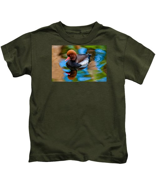 Resting In Pool Of Colors Kids T-Shirt