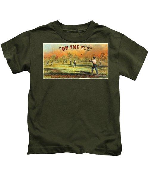 Retro Tobacco Label 1867 Kids T-Shirt