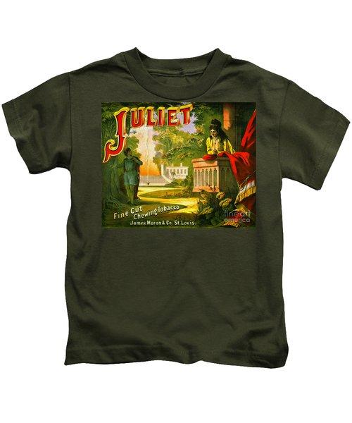 Retro Tobacco Label 1873 Kids T-Shirt