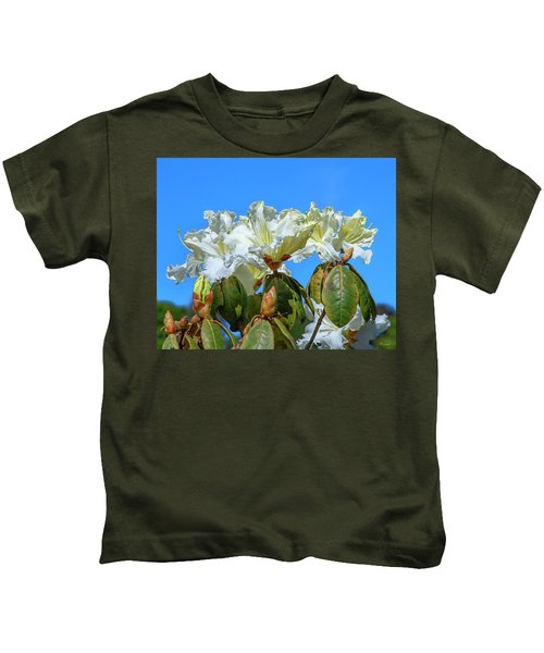 Rhododendron Ciliicalyx Dthn0213 Kids T-Shirt