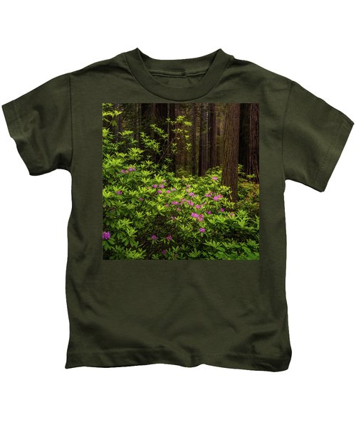 Rhododendrons Kids T-Shirt