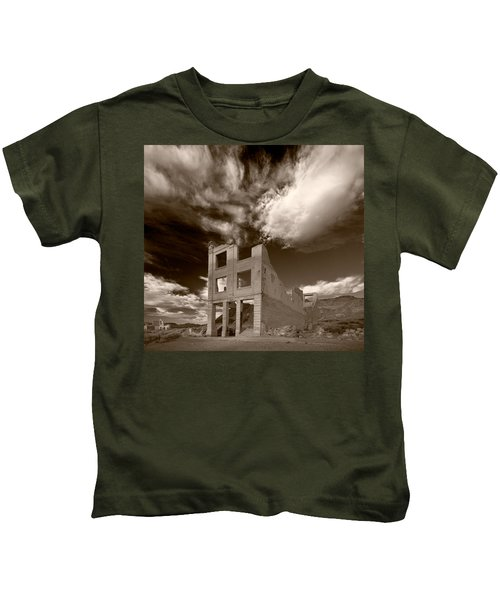 Rhyolite Nevada Ghost Town Kids T-Shirt