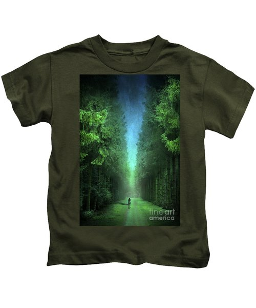 Riding Away Kids T-Shirt