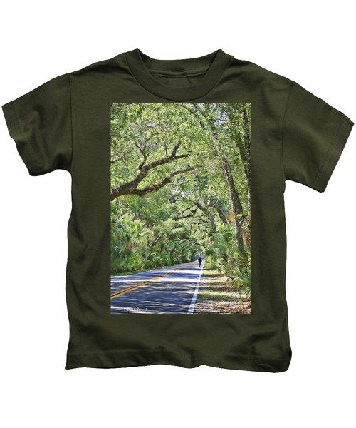 Riding The Ormond Loop Kids T-Shirt