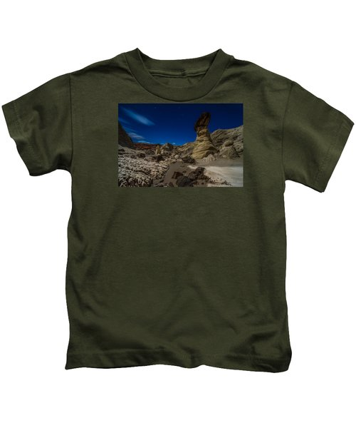 Rim Rock Toadstools Grand Staircase National Monument  Kids T-Shirt