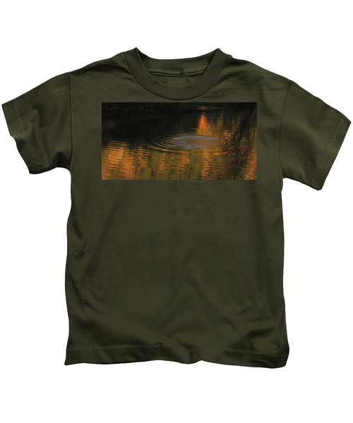 Rings And Reflections Kids T-Shirt