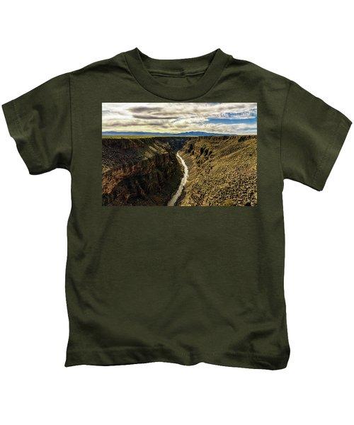 Rio Grande Gorge  Kids T-Shirt