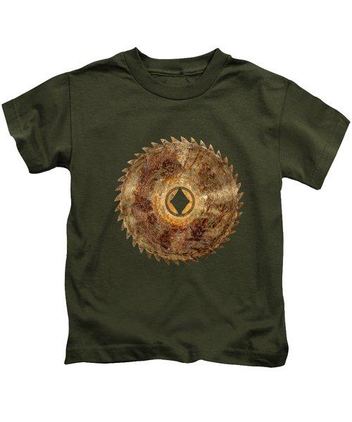 Rip Tooth Sawblade Kids T-Shirt